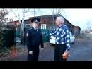 Пенсионер из Курагино поблагодарил полицейского за спасение