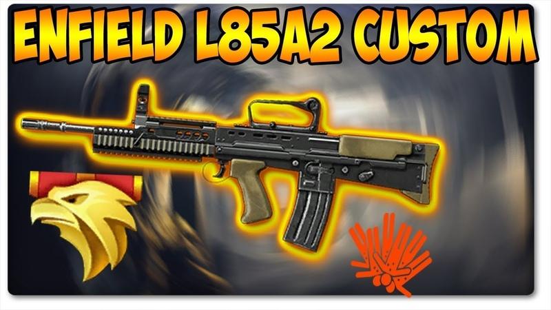 Макрос на Enfield L85A2 Custom сэнс 20 прицел 2 0 и 1 2