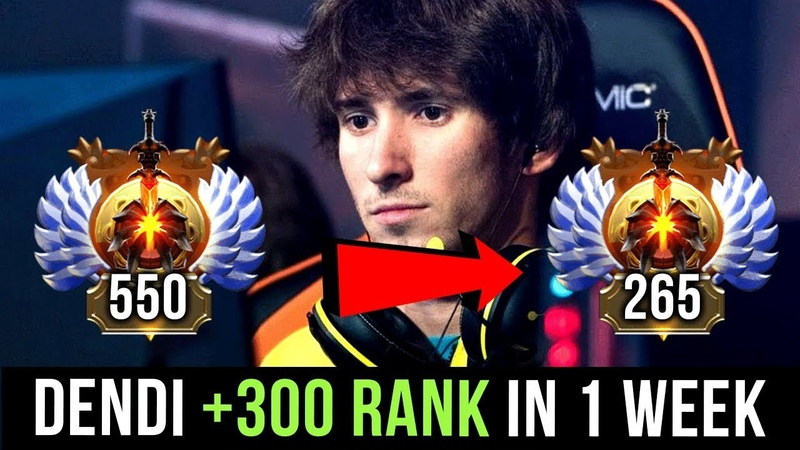 Dendi, Our Favourite Dota 2 Player Back To Pro Dota Soon 300 Rank In 7 Days! MMR = JUST A MEDAL!