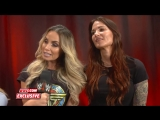 WWE Monday Night RAW 08.10.2018 - Trish Stratus Lita reveal their WWE Evolution team name