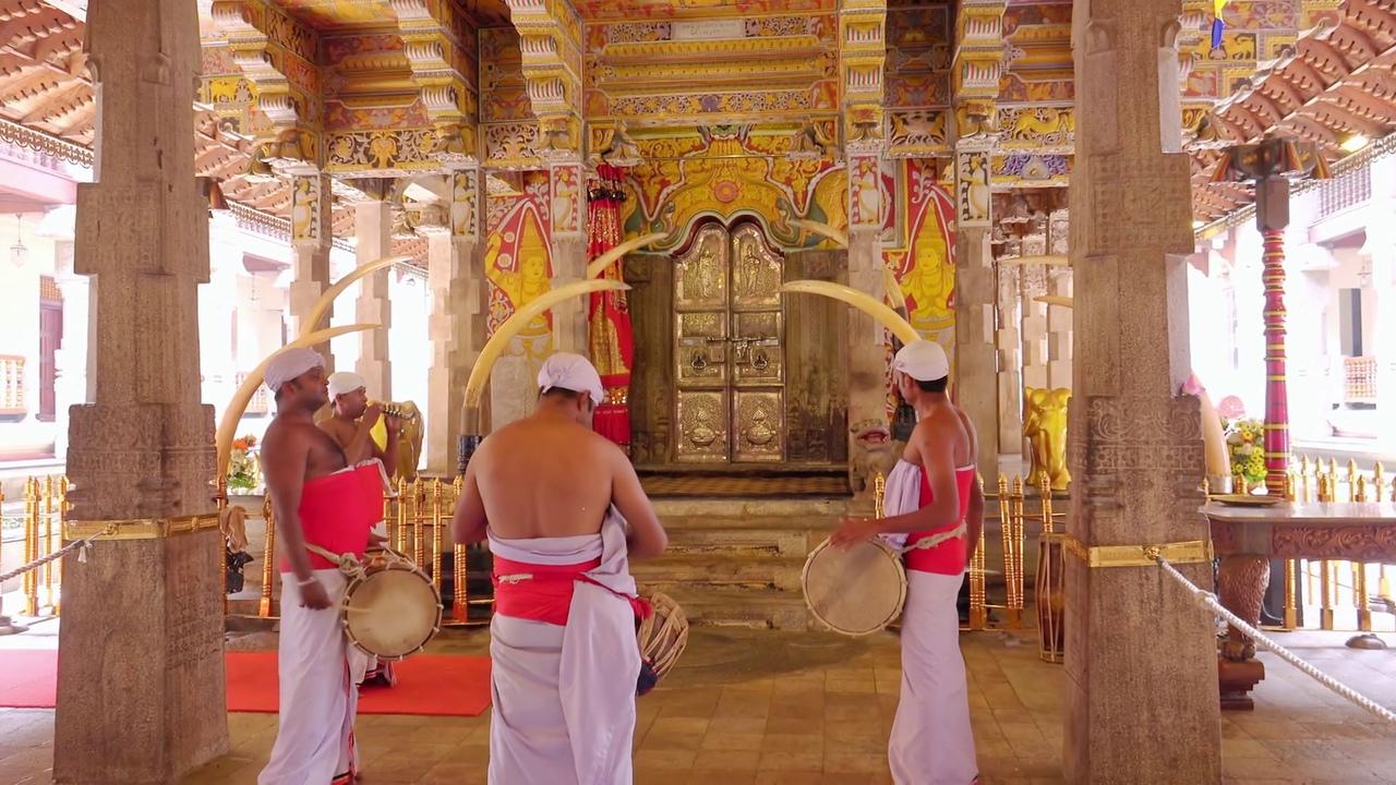 храм зубба будды шри-ланка