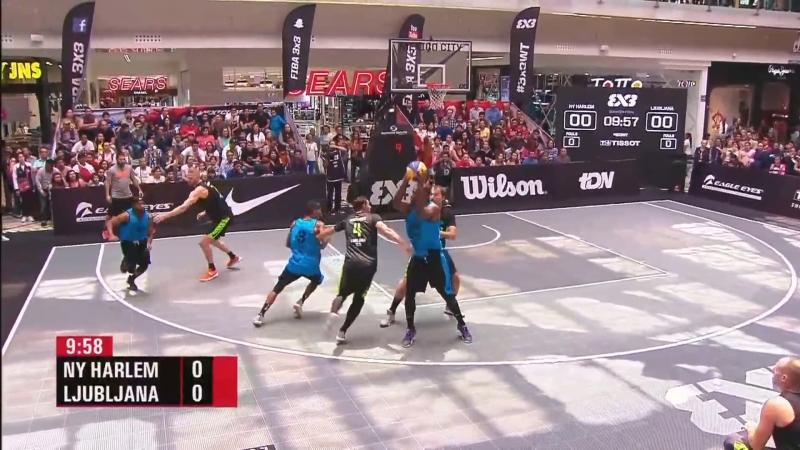 FIBA 3x3 World Tour 2018 Mexico City - 14 FINAL - NY Harlem VS. Ljubljana (09-09-2018)