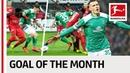 Maximilian Eggestein January 2019's Goal of the Month Winner