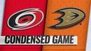 12/07/18 Condensed Game: Hurricanes @ Ducks