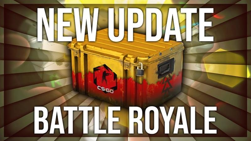 BIG CS:GO BATTLE ROYALE UPDATE NEW DANGER ZONE CASE (CS:GO FREE TO PLAY)