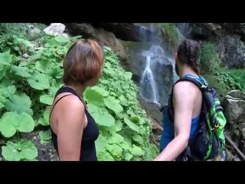 Водопады Мезмая (Чинарский, Университетский) и Фиштинский, Курджипское ущелье