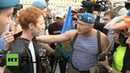 Russia Gay activist is attacked by paratroopers on national holiday