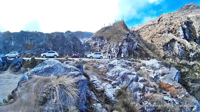 Recorrido Armenia Quindio Nevado del Ruiz Parte 7