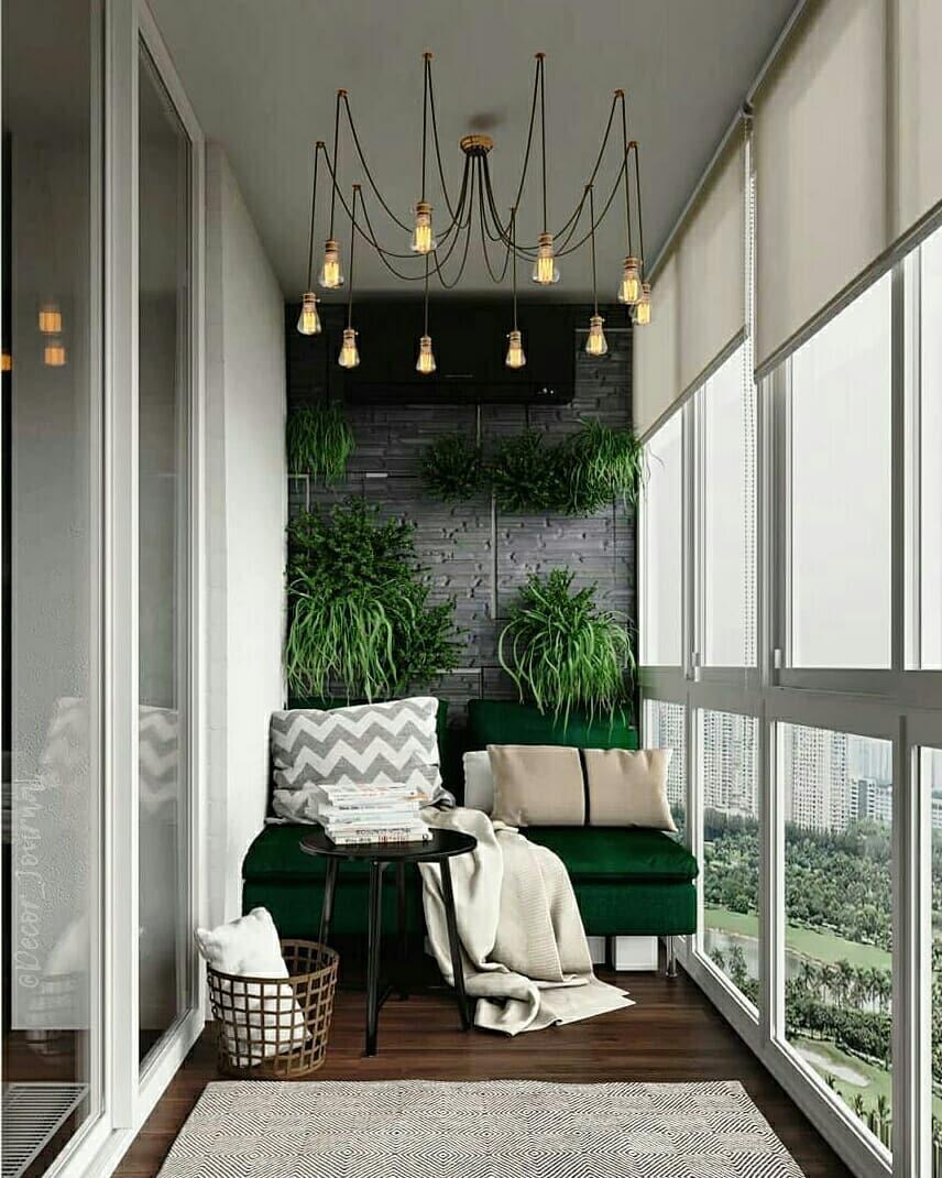 Оцените интерьер балкона от 1 до 10