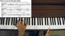 Jazz Piano Tutorial Phrygian Chords