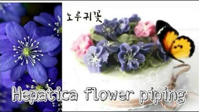 Цветок Печёночница. Кондитерские насадки № 103,02,104