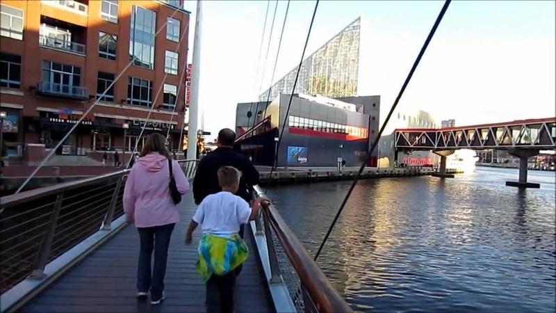 Baltimore, Maryland - Short HD Video Tour, USA - October 2012