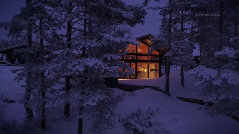 Polar Life Haus project in Finland Naava Resort