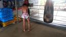 Видеообзор БУЛАТ (РОССИЯ) Muay Thai: Работа на мешке
