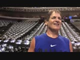 Mark Cuban says he would be interested in playing in the NBA All Star Celebrity Game in Charlotte