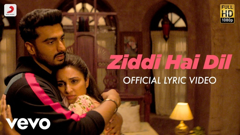 Ziddi Hai Dil Official Lyric Video Arjun Parineeti Mannan Shaah Javed Akhtar
