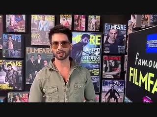 Shahid Kapoor (Filmfare Short Film Awards)