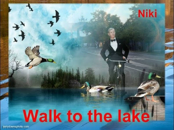 Walk to the lake исп муз Max Raabe Palast Orchester