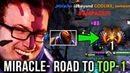 Miracle Anti Mage M GOD Rampage with Style Road to TOP 1 MMR Rank Dota2 EPIC Gameplay Compilation