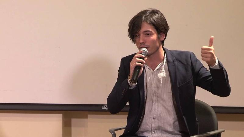 Guglielmo Poggi presents Il nostro ultimo at New York University