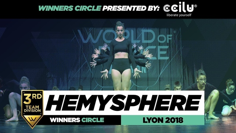 Hemysphere Dance School I 3rd Place Team Division I Winners Circle I World of Dance Lyon 2018