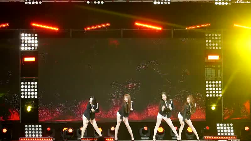 181025 Brave Girls - High Heels @ KFN K-Force Special Show Consolation Train