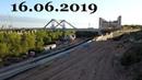 Фрунзенский мост road bridge under construction in Samara