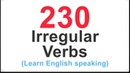230 Irregular Verbs in English