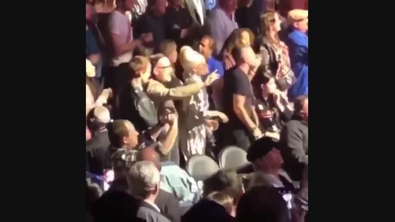Леди Гага на концерте Элтона Джона в Лос-Анджелесе (22.01.2019)