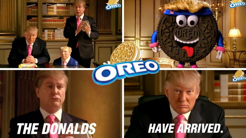 Donald Trump and DSRL Oreo Double Stuf Funny Commercials