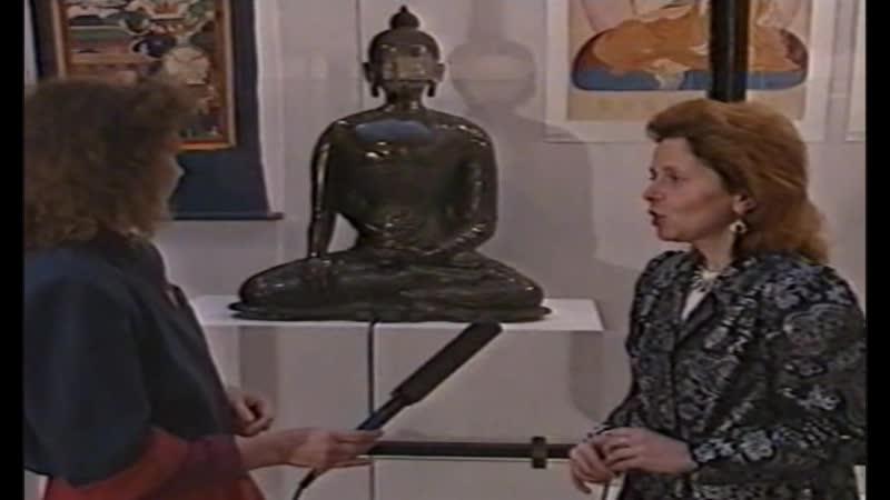 Фрагмент передачи Загадка улыбки Будды. Оазис-ТВ, 1998 г.