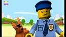 Полиция ЛЕГО. LEGO POLICE. Мультик для детей, про героев из конструктора LEGO.