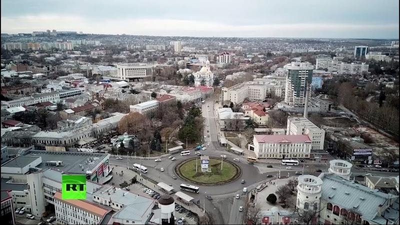 Зимний Крым: Симферополь