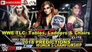 WWE TLC 2018 SmackDown Women's Championship Becky Lynch vs Charlotte Flair vs Asuka TLC Match