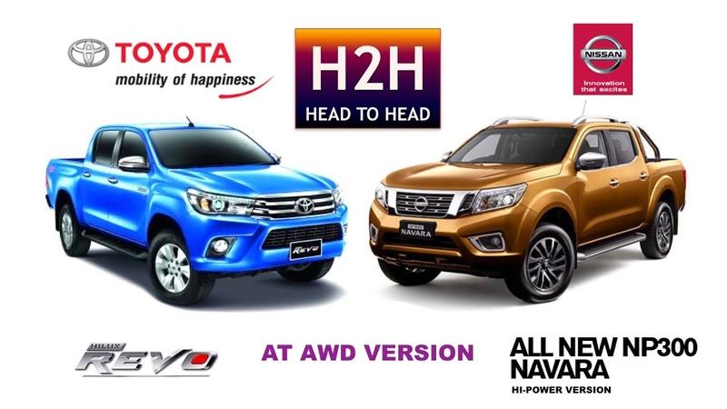 H2H 79 Nissan NAVARA vs Toyota HILUX