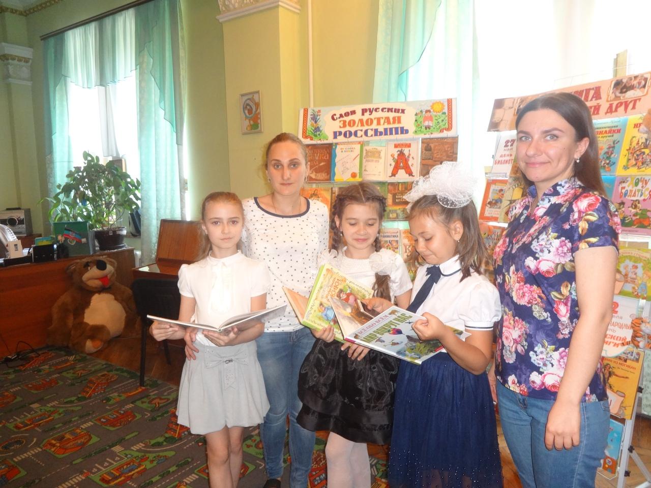 день славянской письменности, донецкая республиканская библиотека для детей отдел обслуживания дошкольников и учащихся 1-4 классов, занятия с детьми