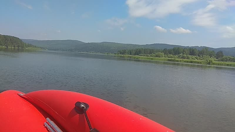 Зеленогорск, красноярский край. Река Кан