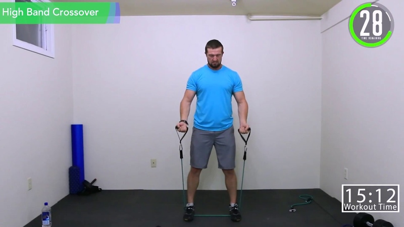 21 Minute Resistance Band HIIT Strength Workout