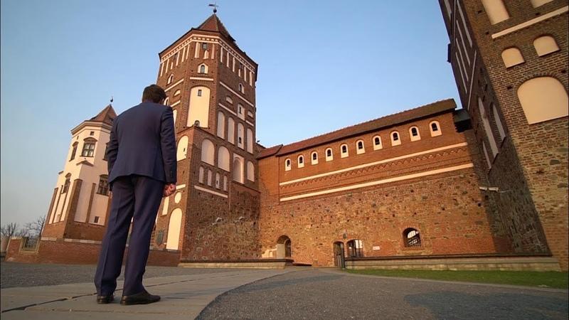 Как снимали ток-шоу в стенах Мирского замка