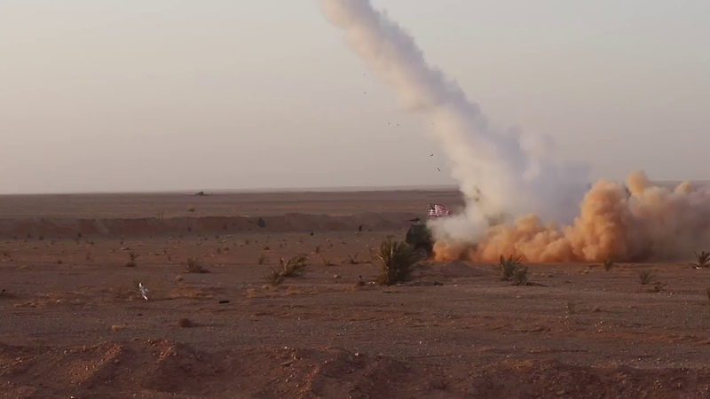Revolutionary Commandos and coalition forces conducted a missile test in tanf zone, 3012019