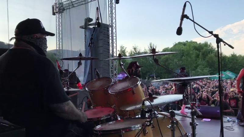Nicholas Barker-Drum Cam-Brujeria live 2018