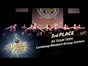 BS TEAM TEEN 🍒 3rd PLACE CONTEMP MODERN GROUP JUNIORS 🍒 SUGAR FEST Dance Championship