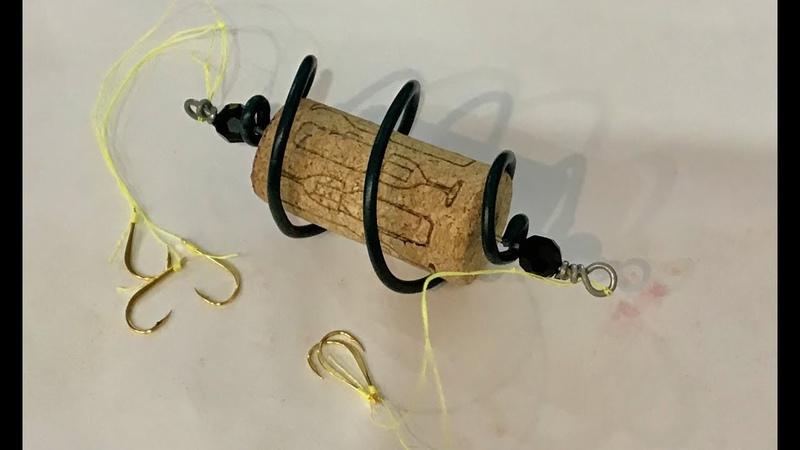 Float Feeder Rig For Silver Carp 1 DIY Surface Fishing Lăng Xê Bề Mặt