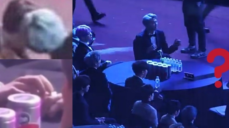[TAEKOOK]Touching Stares moments at Seoul Music Awards