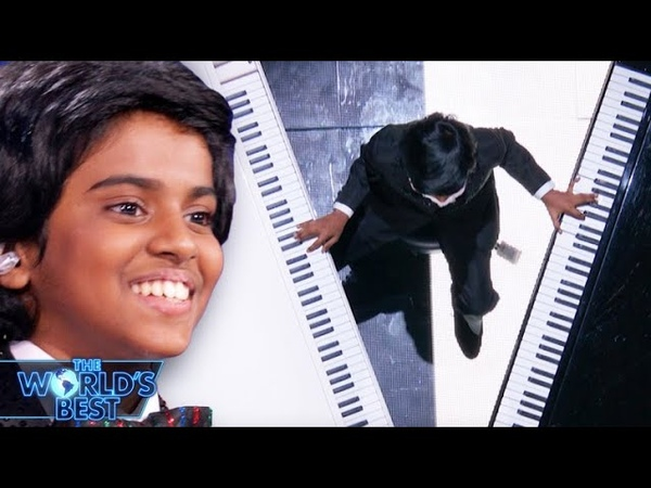 Lydian's Two-Piano Medley for $1M Prize - The World's Best Finale