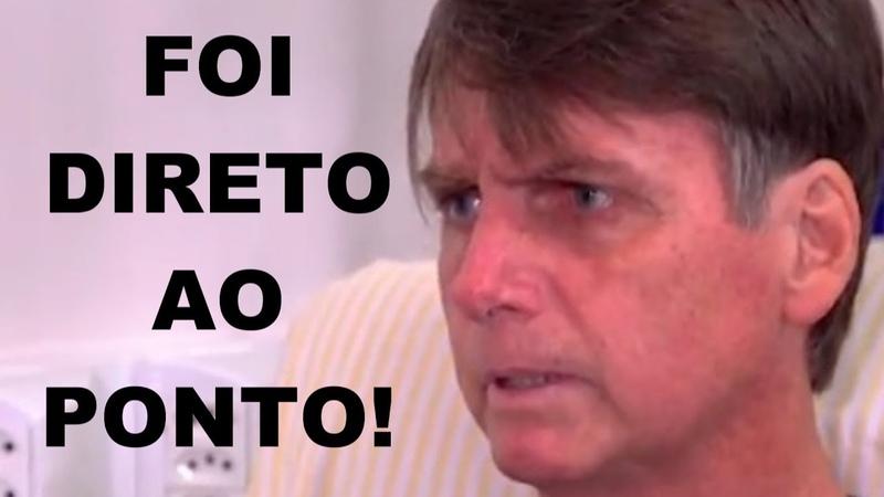 Jair Bolsonaro expõe a principal estratégia do PT, da esquerda e da grande mídia