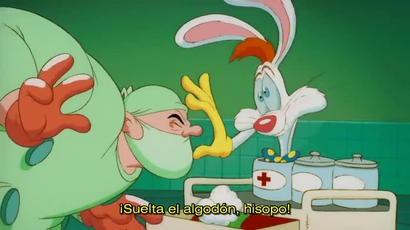 Roger Rabbit: Dolor de barriga (Roger Rabbit: Tummy Trouble, 1989) Rob Minkoff VOSE