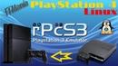 RPCS3 on PlayStation 4. Emulator PS3. Linux PS4