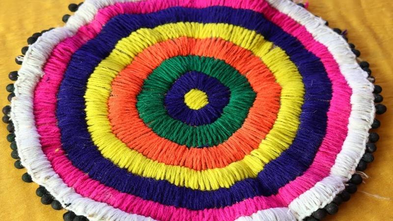 DIY Handmade Doormat | How to make doormat at home | Doormat from waste materials -DIY home project