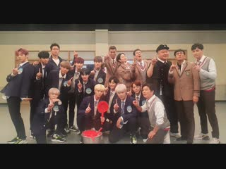 Знающие братья /ask us anything /knowing brother ep 156  wanna one  (рус.саб)